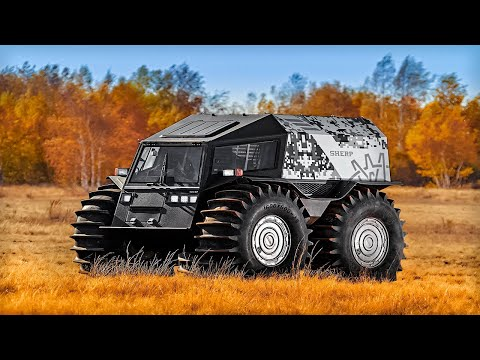 THE MOST IMPRESSIVE ALL-TERRAIN VEHICLES YOU SHOULD SEE