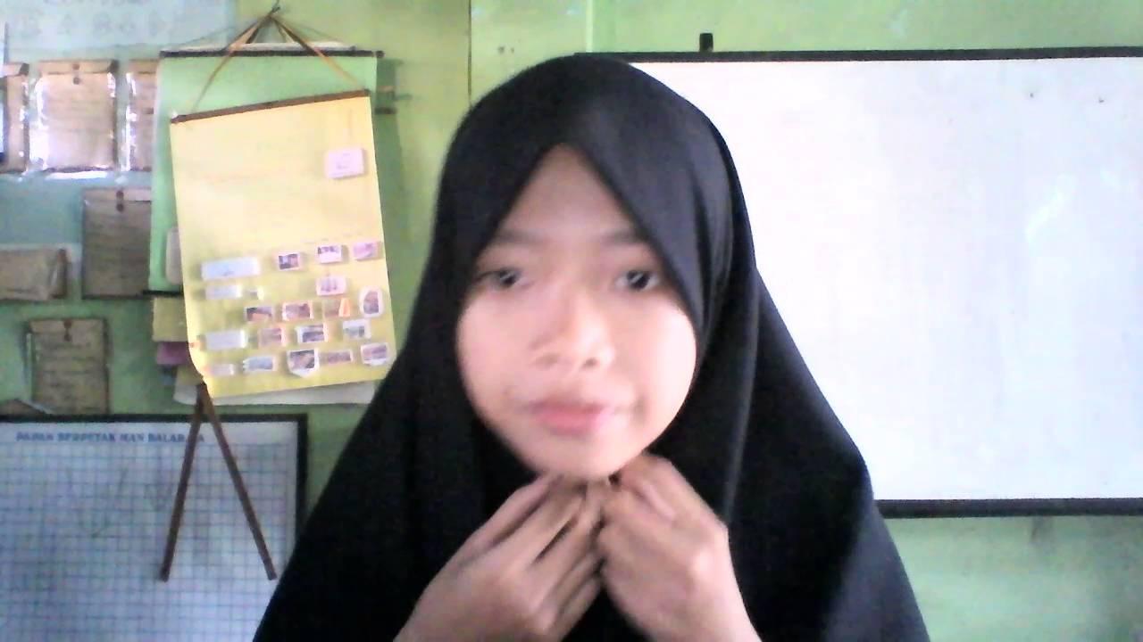 Cara Memakai Hijab Versi Anak Sekolah YouTube