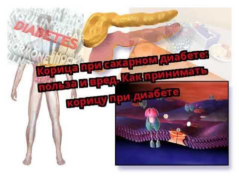 Корица при сахарном диабете: польза и вред. Как принимать корицу при диабете