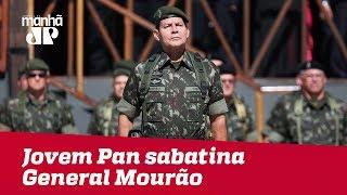 Eleições 2018 - Jovem Pan sabatina General Mourão