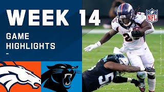 The denver broncos take on carolina panthers during week 14 of 2020 nfl season.subscribe to nfl: http://j.mp/1l0bvbucheck out our other channels:para...