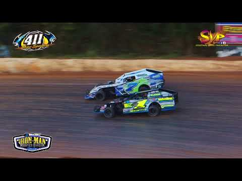Iron Man Modified | Heat Races | 411 Motor Speedway | Nov  25, 2017