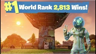 #1 Fortnite World Record 2,813 Solo Wins | Fortnite Live Stream | Free vbucks read description