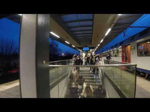 Reportage train to Antwerp Belgium 2021