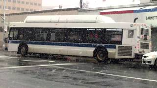 mta bus new flyer c40lf cng q65 buses 164th street hillside avenue