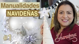 Manualidades Navideñas 🎄 Manualidades Para Navidad