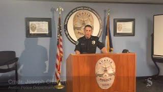 Austin Police briefing on terrorism threats