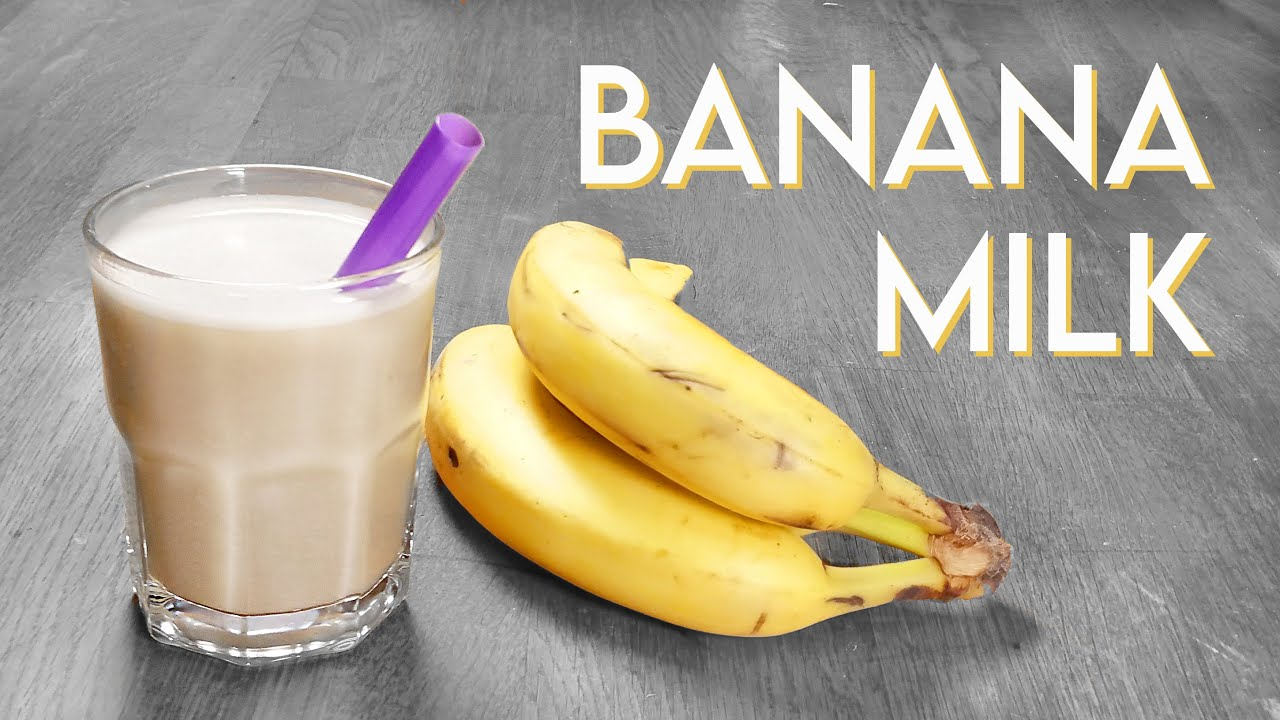 KOREAN BANANA MILK Vegan Recipe