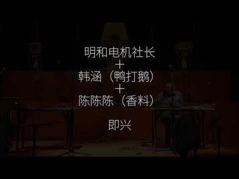 陈陈陈Live:蚊虫叮咬 1.0 Chenchenchen Mosquitos 1.0 (Live At Shanghai Ming Contemporary Art Museum )