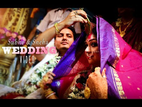 Best indian  CINEMATIC WEDDING video || Subho + Sneha || Frames by ©Risuka Gallery