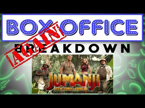 Jumanji Saves the Box Office Again! - Box Office Breakdown for January 14th, 2018
