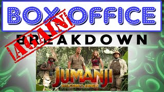 Jumanji Saves the Box Office Again! - Box Office Breakdown for January 14th, 2018