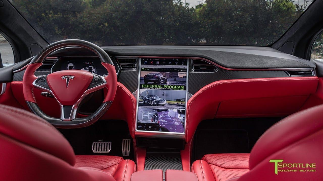 Tesla Model X P90d Black Fully Customized Exterior Interior Youtube