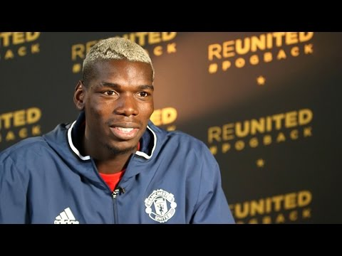 Manchester United Unveil World Record Signing Paul Pogba