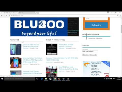 Bluebo T3110 Official Stock Latest Firmware Download Here