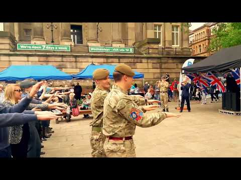Preston Armed Forces Day - Lancashire Army Cadets - Macarena