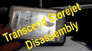 How To Take Apart - Transcend StoreJet 25D3 USB 3.0 Portable Hard Drive