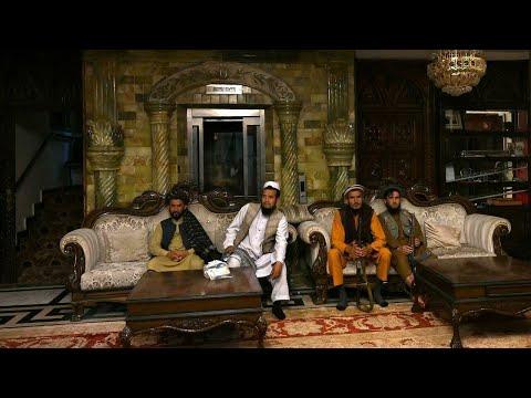 حركة طالبان تغزو قصر عدوها اللدود !!
