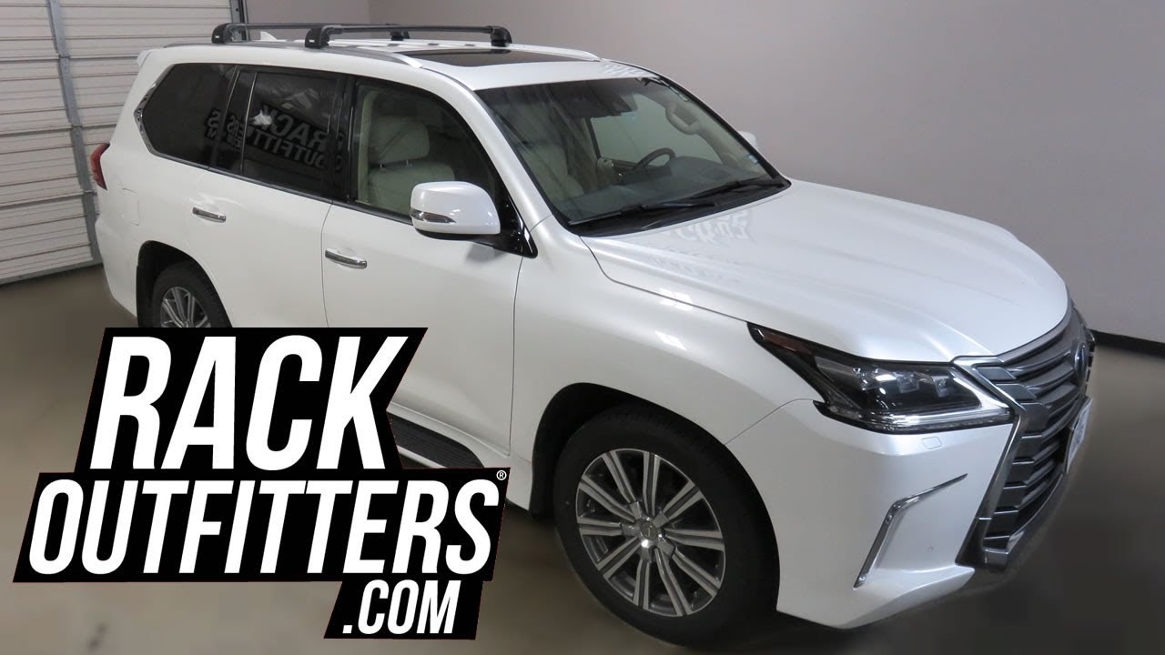 Lexus LX 570 with Thule AeroBlade EDGE Roof Rack Crossbars