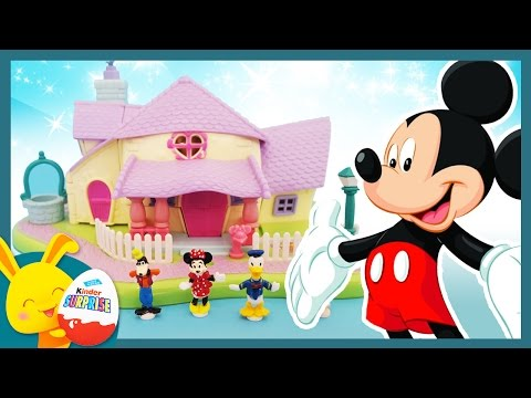 L\'anniversaire de Mickey - Jouet la maison de Minnie en Polly Pocket ...