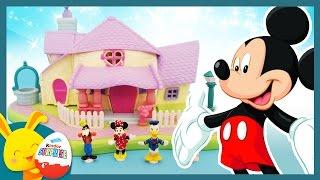 L'anniversaire de Mickey - Jouet la maison de Minnie en Polly Pocket - Touni Toys