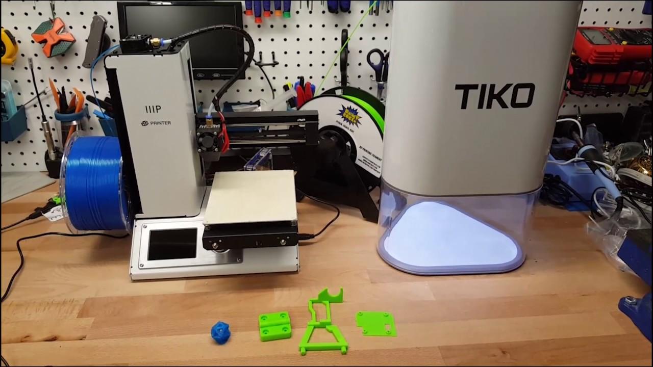 3D Print Off Timelapse - Monoprice Mini vs TIKO