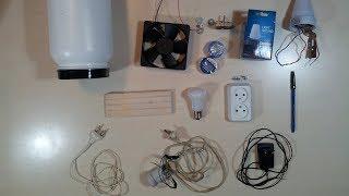 Электрическая ловушка для комаров своими руками