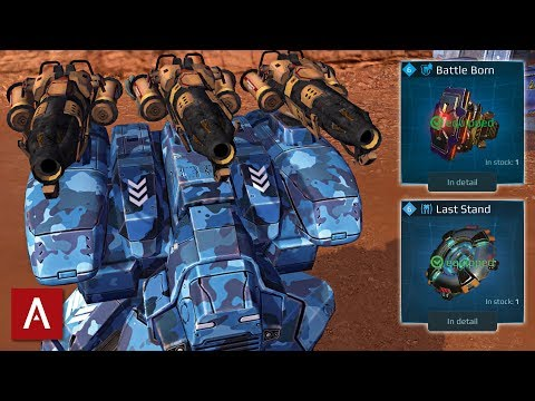 Invincible Fury Ember With Battle Born + Last Stand Module Defending Beacons | War Robots Gameplay
