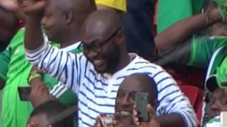Nigeria x France, Anthem of Nigeria beginning of the game