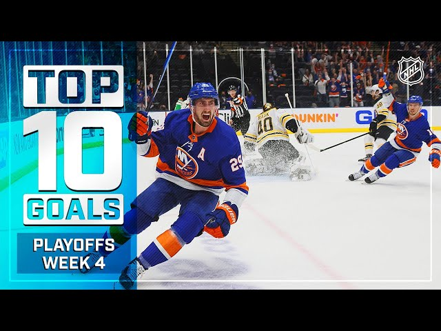 Top 10 Goals from Week 4 of the Stanley Cup Playoffs
