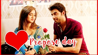 Vikram Singh Chauhan & Shivani Surve's EXTRA SPECIAL Propose Day