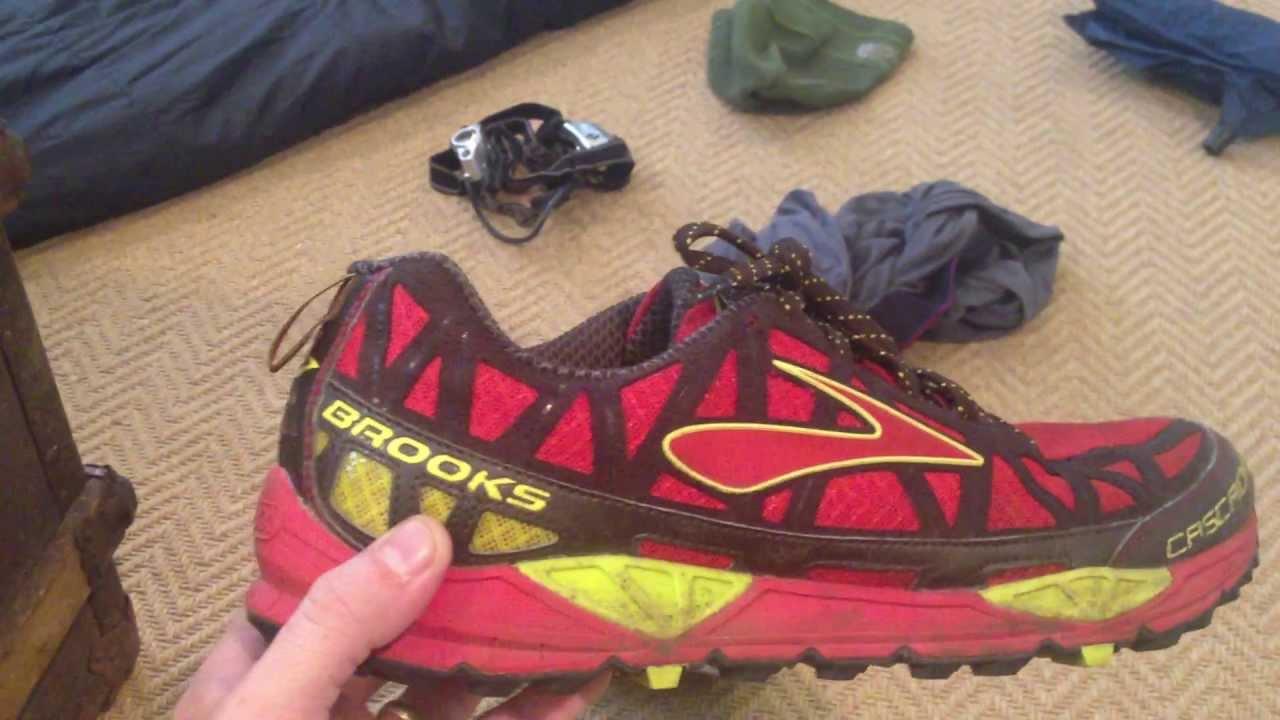 AT Thru Hike Shoe: Brooks Cascadia 8