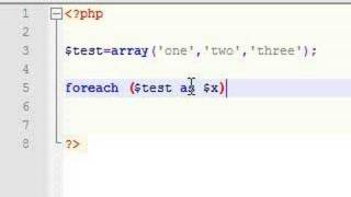 PHP Tutorial - 14 - Foreach Array Loops