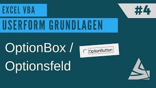 EXCEL VBA - Userform erstellen #4 OptionButton / Optionsfläche + MULTIPLE CHOICE TEST