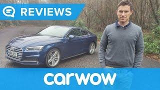 Audi A5 Coupe 2018 in-depth review | Mat Watson Reviews