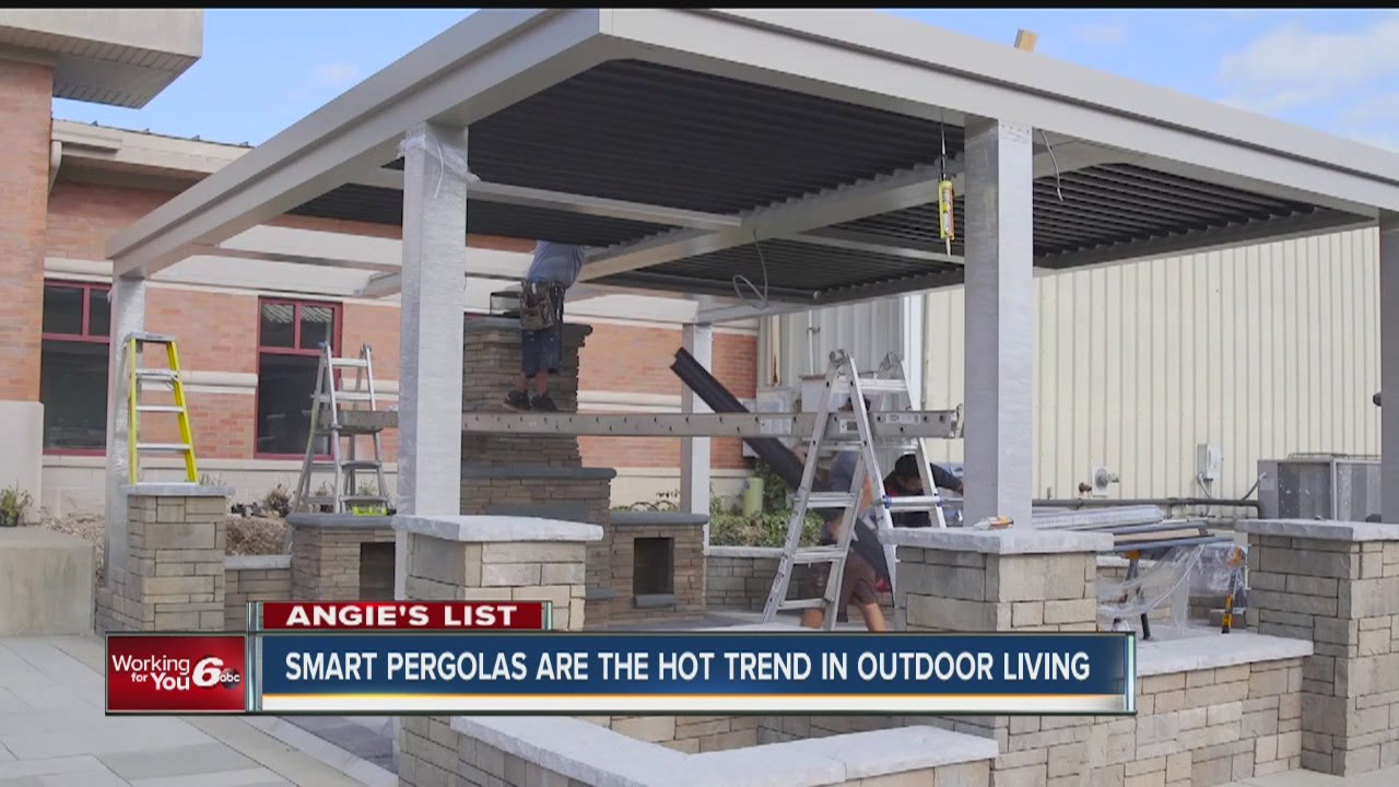 StruXure Pergolas featured on this clip from Angie's List.
