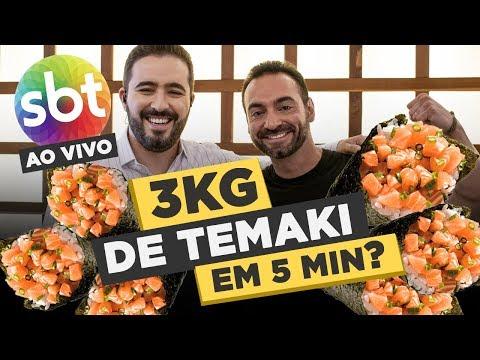 LIVE challenge for TV: 6 pounds of japanese food under 5 minutes?Kaynak: YouTube · Süre: 7 dakika27 saniye