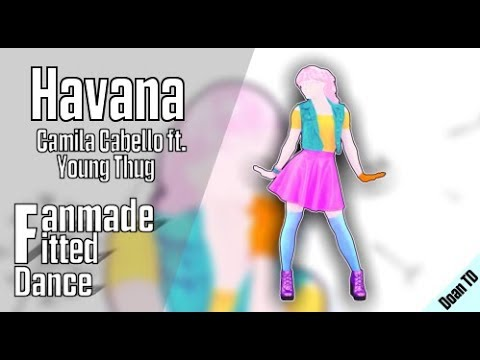 Just Dance 2018  Havana Full Fanmade Fitted Gameplay