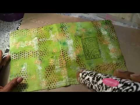 DIY Fabric Journal Cover