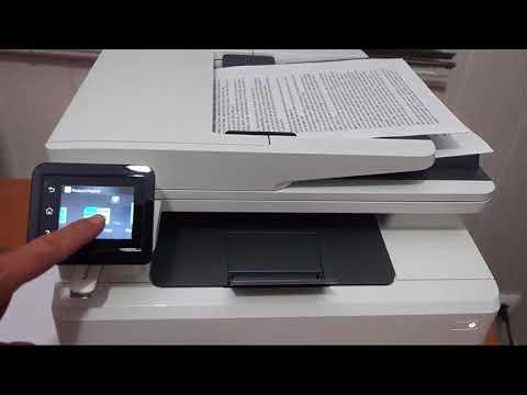 Hp Color Laserjet Pro Mfp M281fdw Se Puede Pedir Algo Mas Youtube