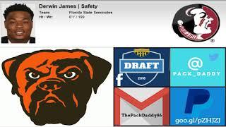 2018 NFL Mock Draft 2.0 Free HD Video
