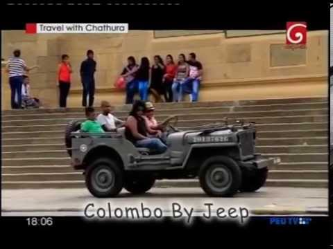 COLOMBO BY JEEP WAS FEATURED IN DERANA TV IN THEIR PROGRAM ME TRAVEL WITH CHATHURA