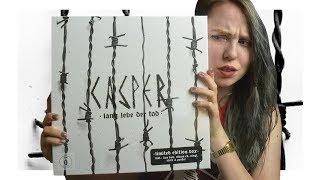 CASPER Lang Lebe Der Tod Unboxing Reaction Rebecca