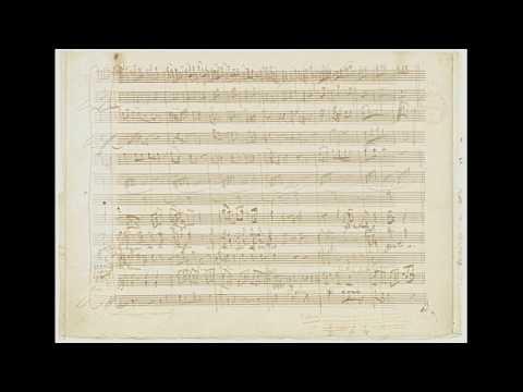 Mozart: Don Giovanni - Finale I Atto 3/3 - Autograph Manuscript