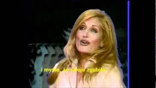 Dalida - Femme est la nuit (napisy PL)