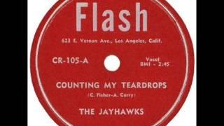 JAYHAWKS   Counting My Teardrops   1955