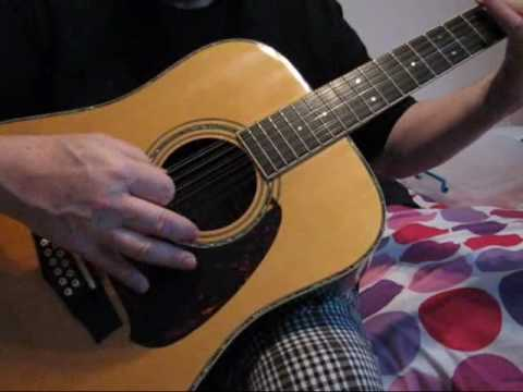 Demonstration of a 1970s Ibanez 12 string guitar.wmv