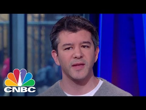 Uber CEO Travis Kalanick On Making Ends Meet | Squawk Box | CNBC