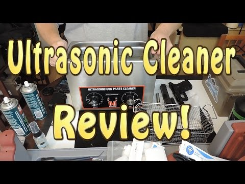 Using an Ultrasonic Cleaner to clean your guns, a review, yes a REVIEW!