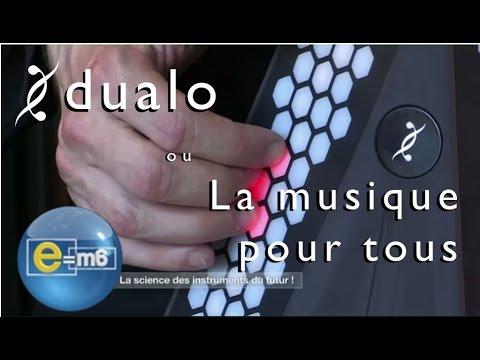 dualo sur e m6 l 39 instrument de musique le plus intuitif apprendre la musique youtube. Black Bedroom Furniture Sets. Home Design Ideas